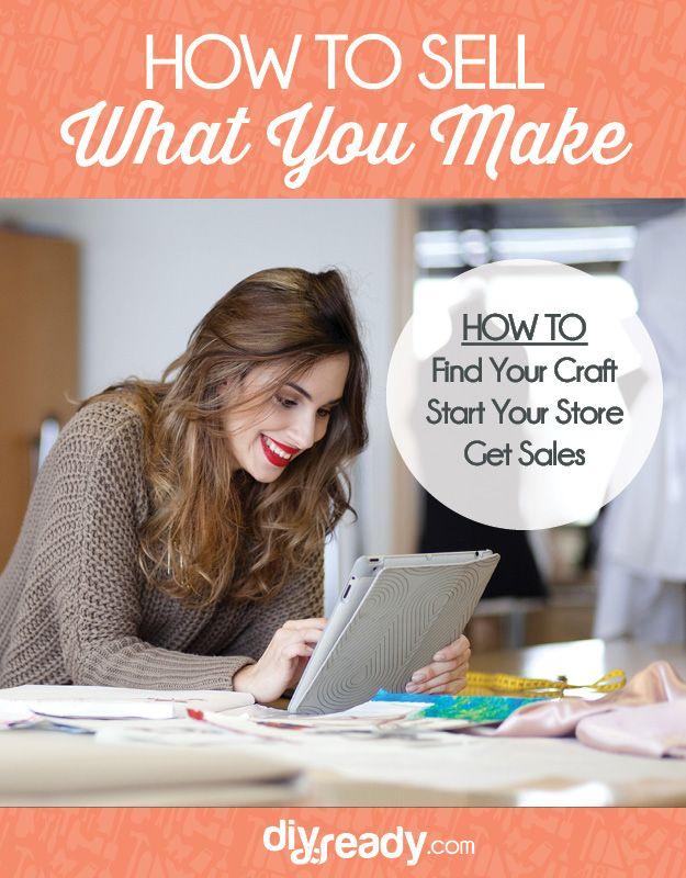 Echa un vistazo a ¿Estás listo para iniciar un negocio Craft? [Capítulo 3] Cómo vender lo que hacen: manualidades bricolaje en http://artesaniasdebricolaje.ru/how-to-start-a-craft-business/